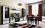 Стол обеденный Терра 1600х950 TR-185-WB MiroMark белый/черный, фото 3