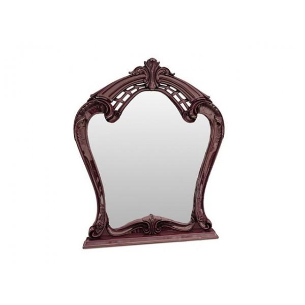 Зеркало в спальню, в прихожую Олимпия OL-81-PR MiroMark перо рубино