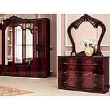 Зеркало в спальню, в прихожую Олимпия OL-81-PR MiroMark перо рубино, фото 3