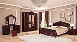Зеркало в спальню, в прихожую Олимпия OL-81-PR MiroMark перо рубино, фото 4