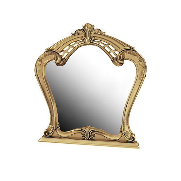 Дзеркало в спальні, в передпокій Реджина Чорна RG-81-BG MiroMark золотистий