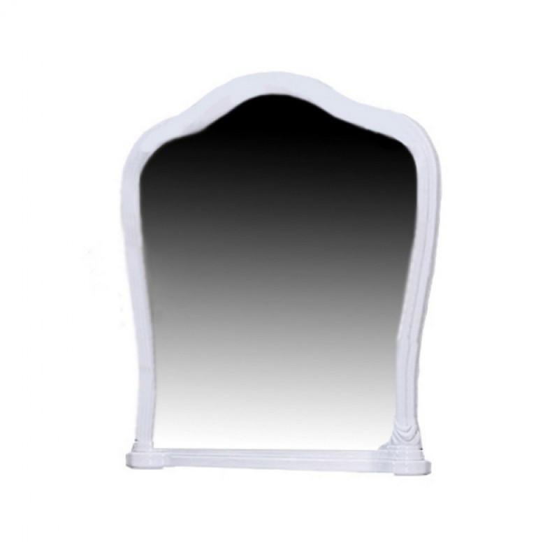 Зеркало в спальню, в прихожую Луиза LZ-81-WB MiroMark белый глянец