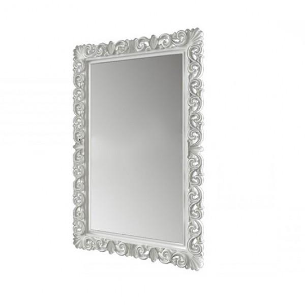 Зеркало в спальню, в прихожую Гретта 740х1120 MR-70-WH MiroMark белый