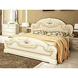 Кровать двуспальная с подъемным механизмом Мартина MR-48-RB MiroMark бежевый, фото 3