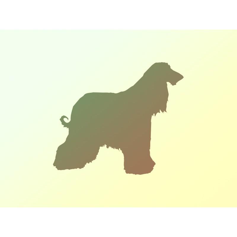 """Наліпка """"Пес"""" / Виниловая наклейка """"Собака"""""""