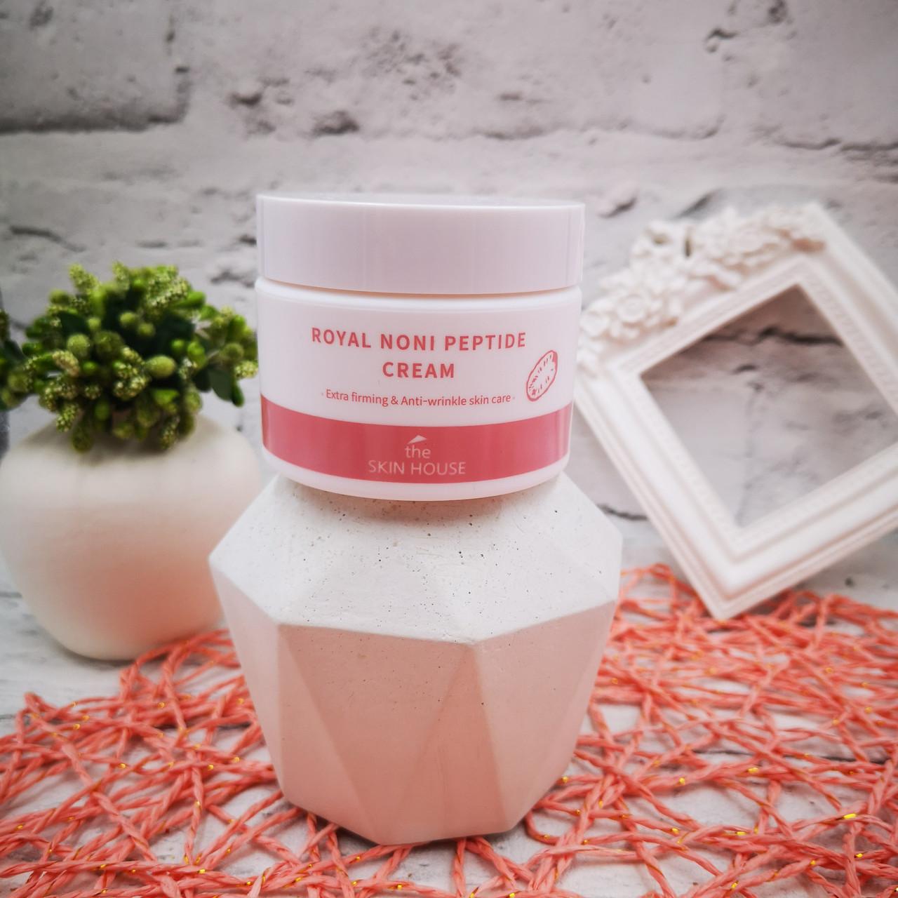 Укрепляющий крем The Skin House Royal Noni Peptide Cream