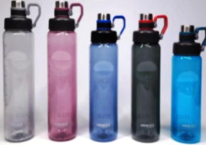 Бутылка для воды Sport 1000мл микс
