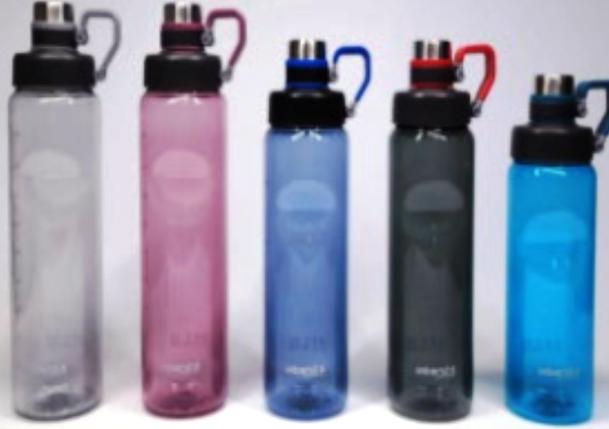 Бутылка для воды Sport 1000мл микс, фото 2
