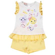 Дитячий комплект для дівчинки Одяг для дівчаток 0-2 BRUMS Італія 141BEEM006 Білий