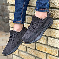 Женские кроссовки Adidas Yeezy Boost 350 v2 Antracite, кросівки жіночі чорні