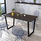 Обеденный стол Трапеция Loft-Design нераскладной лдсп