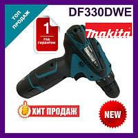 Шуруповерт Makita DF330DWE с набором.