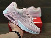 Кросівки жіночі в стилі    Nike Air Max 90   пудра