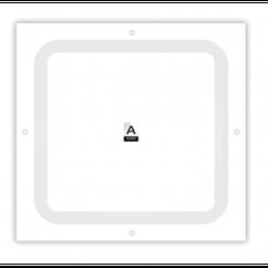 Антенна планшетная ANTENITI 4G LTE MIMO 2×17 dbi