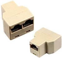 Разветвитель для сетевого кабеля RJ-45 8 контактный