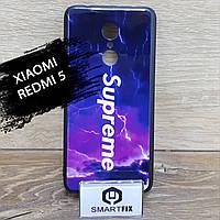 Чехол с рисунком для Xiaomi Redmi 5, фото 1