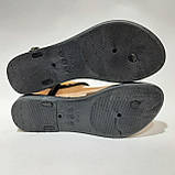 Женские босоножки пляжные, р. 37 последняя пара черные, фото 8