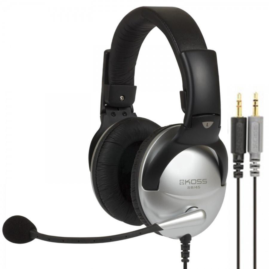 Мониторные наушники с микрофоном Koss SB45 (159203)