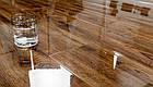 Ламинат Oster Wald Piano Дуб Тремолино 2502 33 класс 8мм толщина с фаской покрытие глянец, фото 2