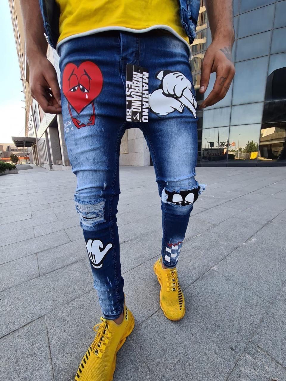 Чоловічі джинси Mariano 1106 blue