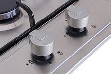 Варочная поверхность газовая Ventolux HG320 EES (INOX) Нержавеющая сталь, фото 2