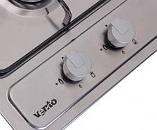 Варочная поверхность газовая Ventolux HG320 EES (INOX) Нержавеющая сталь, фото 3