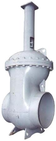 Засувка сталева 30с907нж Ду500 Ру25 під електропривод