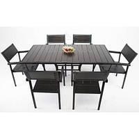 Комплект мебели для кафе Бристоль: стол + 6 стульев