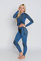 Женские термоштаны с шерстью альпаки HASTER ALPACA WOOL зональное бесшовное шерстяное термобелье, фото 1