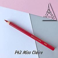 Карандаш для губ водостойкий Miss Claire F42