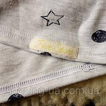 Стильная водолазка - гольф щенки на сером Five Stars KD0362-128р, фото 3