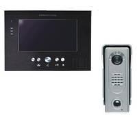 MT373C-CK silver + SAC5C Комплект домофон + виклична панель