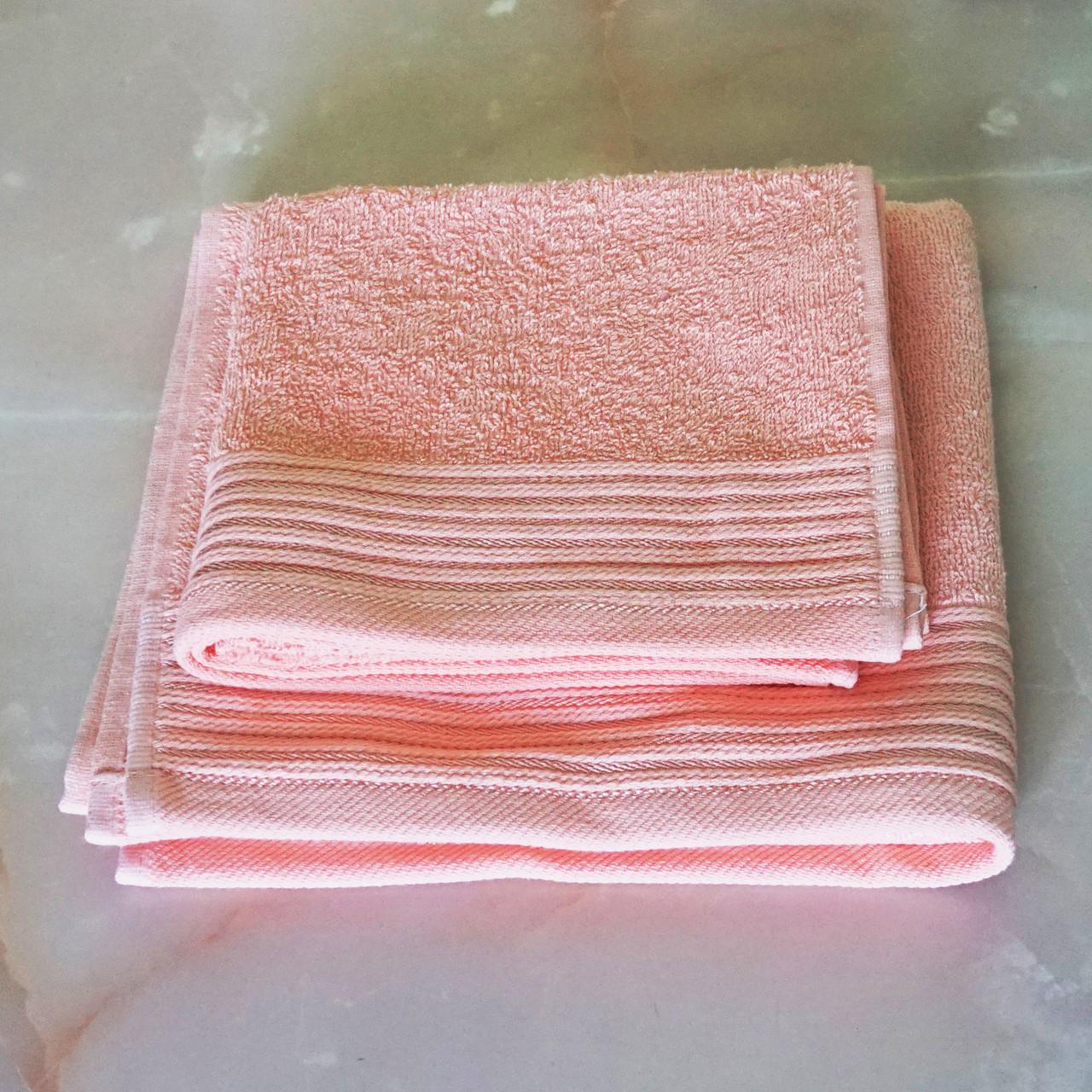 Полотенца махровые 40х70 см, 50х90 см набор полотенец для ванной