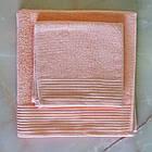 Рушники махрові 50х90 см, 70х140 см набір рушників для ванної, фото 2