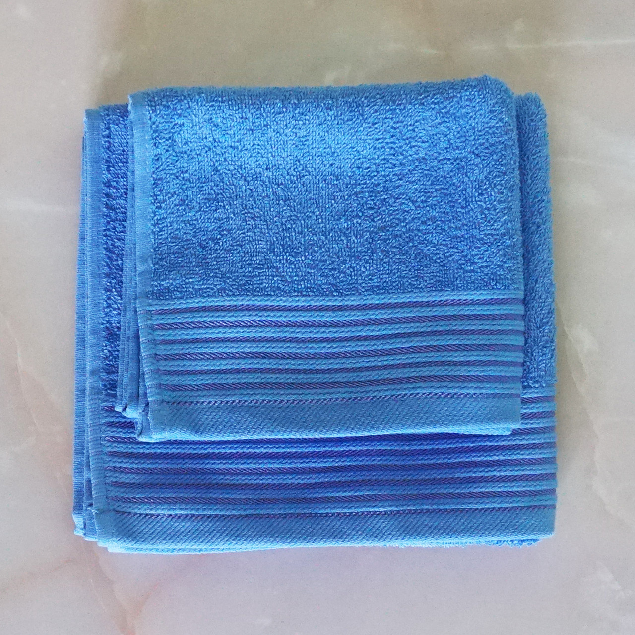 Рушники махрові 40х70 см, 50х90 см набір рушників для ванної