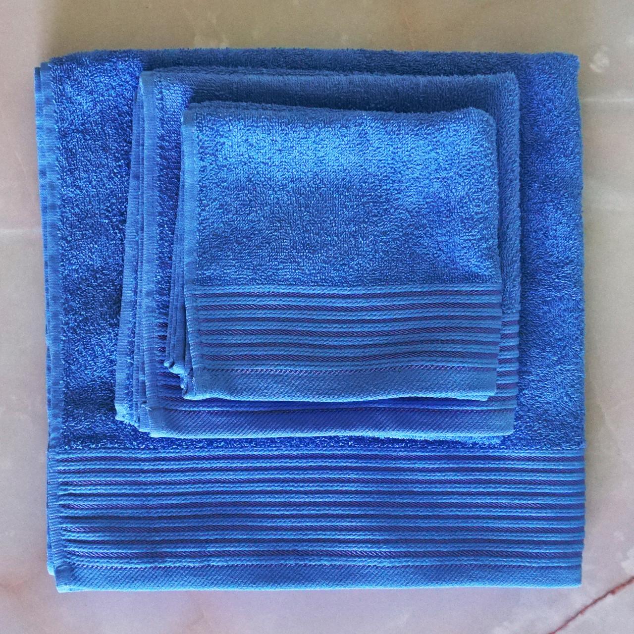 Рушники махрові 40х70 см, 50х90 см, 70х140 см набір рушників для ванної