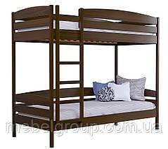 Двухъярусная кровать Дует Плюс Масив (Без ящиков и без бортика), фото 3