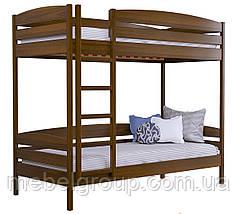 Двоярусне ліжко Дует Плюс Масив (Без ящиків і без бортика), фото 2