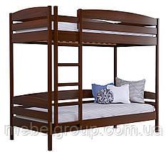 Двухъярусная кровать Дует Плюс Масив (Без ящиков и без бортика), фото 2