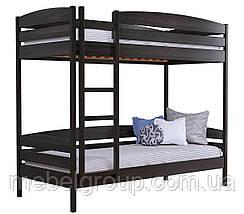 Двоярусне ліжко Дует Плюс Масив (Без ящиків і без бортика), фото 3