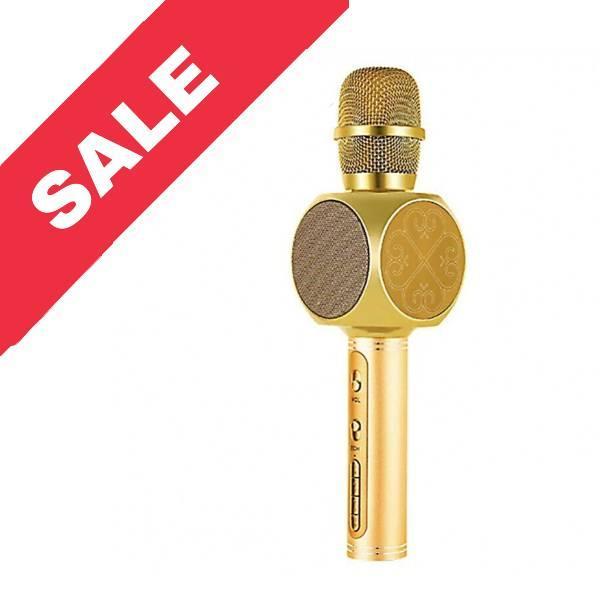 Колонка мікрофон YS-63 Gold