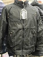 Чоловіча куртка весняна осіння чорна розпродаж