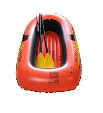 Двухместная надувная лодка Intex 58331 (185 x 94 x 41 см) Explorer 200 Set + Пластиковые весла и насос, фото 3