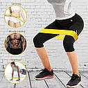 Спортивные тренировочные эластичные резинки 3шт, фото 6