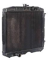 Радиатор ГАЗ 3307 медный 3-х рядный (пр-во Дорожная Карта)