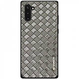 Кожаная накладка VORSON Braided leather series для Samsung Galaxy Note 10, фото 2