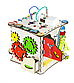 Кубик развивающий 25х25х25 с подсветкой К009, фото 2