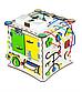Кубик развивающий 25х25х25 с подсветкой К009, фото 5
