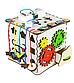 Кубик развивающий 25х25х25 с подсветкой К009, фото 7