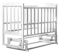 Кровать Babyroom Зайчонок Z201 Белый 62038, КОД: 1704860